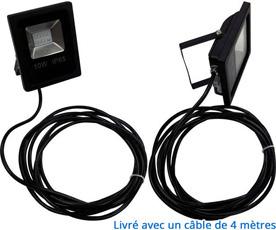 Spot LED + câble