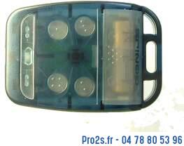 telecommande adyx genius te4433hg noire face