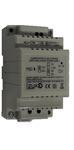 telecommande alim 230v-12v 2a interieur