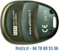 telecommande allducks 6204 interieur