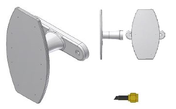 telecommande antenne gsm b20-000-c face