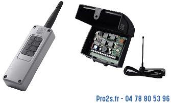 telecommande cardin kit s449 700m face