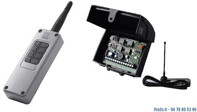 telecommande cardin kit s449 700m interieur