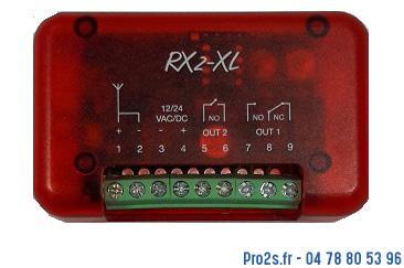telecommande compat d rx2 face