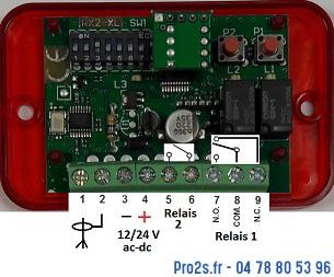 telecommande compat d rx2 interieur