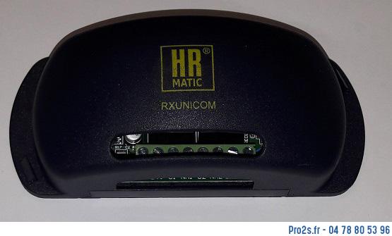 telecommande compat rx2 unicom interieur