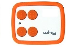 telecommande compat why-evo-orange face