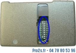 telecommande deltron s405 27c2 face