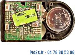 telecommande domateam tk4 868 interieur