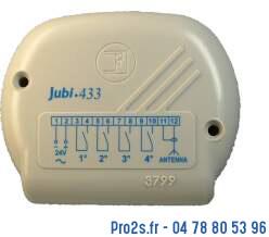 telecommande fadini r jubi433 face