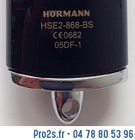 telecommande hormann hse2bs interieur