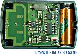 telecommande hormann hsm4 433 interieur