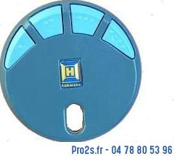 telecommande hormann hsp4 bleu868 face