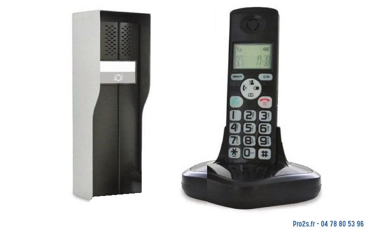 telecommande interph sans-fil dect face