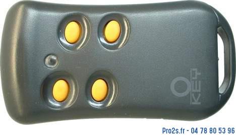 telecommande key txg44 face