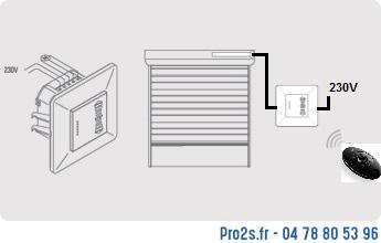 telecommande kit 1-volet renov cote