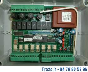 telecommande kit 4 volets face
