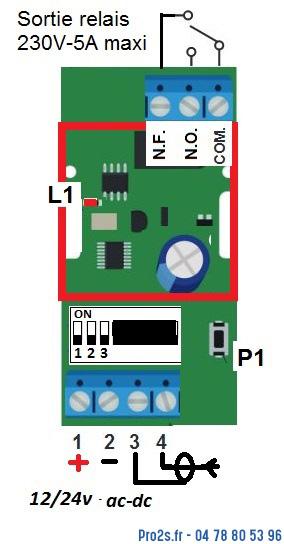telecommande kit economique interieur