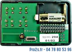 telecommande label rjw4e 433 interieur