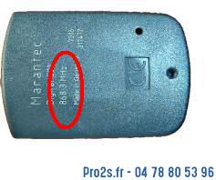 telecommande marantec 321 868 interieur