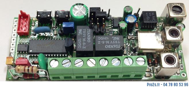 telecommande proget recepteur30875 interieur