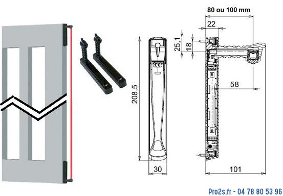 telecommande radio-master vertigo-10 acg8043 interieur