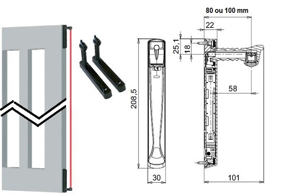 telecommande radio-master vertigo-8 acg8042 interieur