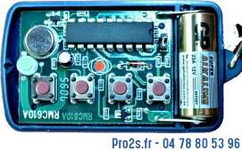 telecommande remocon rmc610 433 interieur