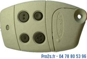 telecommande siminor s433-4t face