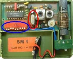 telecommande tedsen m512 sm1 interieur