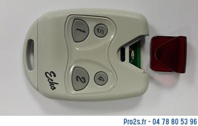 telecommande telecopieuse echo interieur