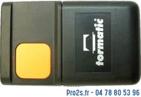 telecommande tormatic hs43 1e face