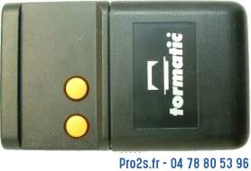 telecommande tormatic hs43 2e face