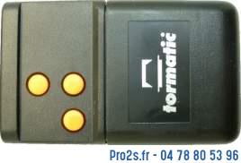 telecommande tormatic hs43 3e face