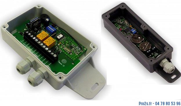 telecommande wirlessband13 kit-2-relais face